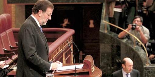 Rajoy y el PP apuestan por el cambio economico, pero renuncian a la regeneración