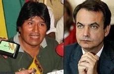 La frigidez del gobierno ante los ataques de Evo Morales a empresas españolas es un nuevo error que hará perder votos a Zapatero