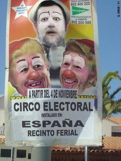 El Circo político español