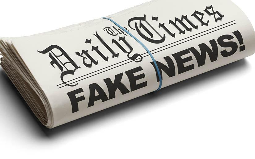 """Las """"fake news"""" son el reflejo de las mentiras del poder. Los políticos son los padres de la falsedad corrupta."""