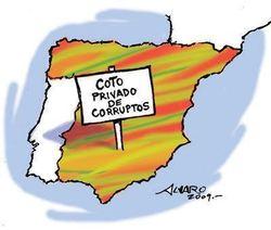 La corrupción española no es un accidente sino una conspiración