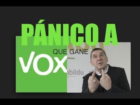 Hasta el antiguo terrorismo vasco le tiene pánico a VOX