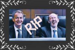 El PSOE, nervioso y asustado, tiene a Zapatero escondido