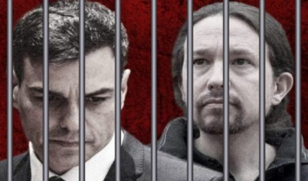 """Imagen que circula por las redes como icono de la campaña """"Gobierno a prisión"""""""