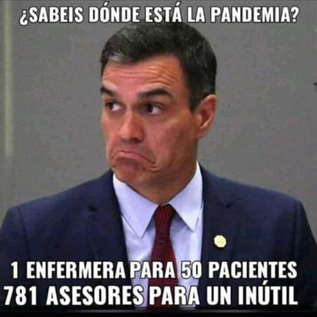 Una de las imágenes-lamento que inundan Internet y que claman contra el mal gobierno de Pedro Sánchez