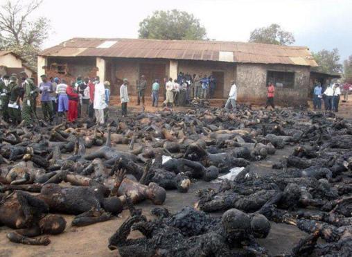 Comportamiento salvaje: cristianos quemados vivos por musulmanes en Nigeria, un holocausto monstruoso ante la indiferencia internacional.