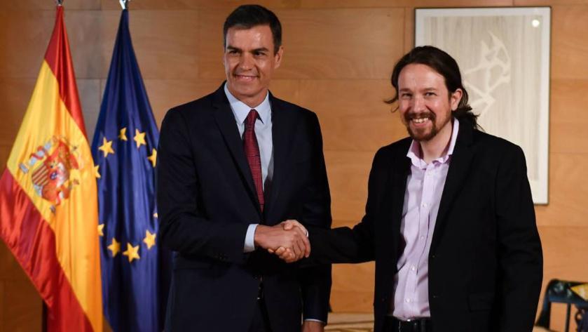 Imagen de la degradación de la izquierda española