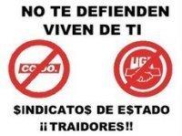 Los sindicatos españoles son traidores y antidemocráticos