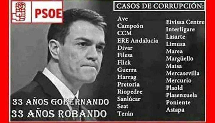 La enorme deuda del PSOE con España