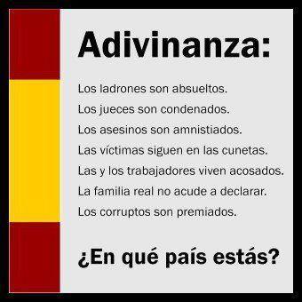 España, en manos de la maldita derecha de siempre