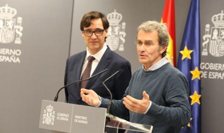 Dos rostros del fracaso sanitario español