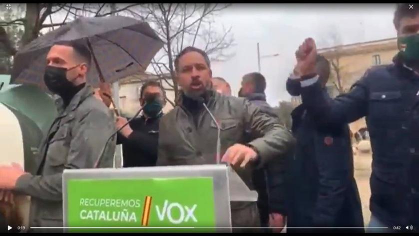 La violencia contra VOX en Cataluña refleja la podredumbre de la sociedad y el auge de los terroristas nazis y bolcheviques