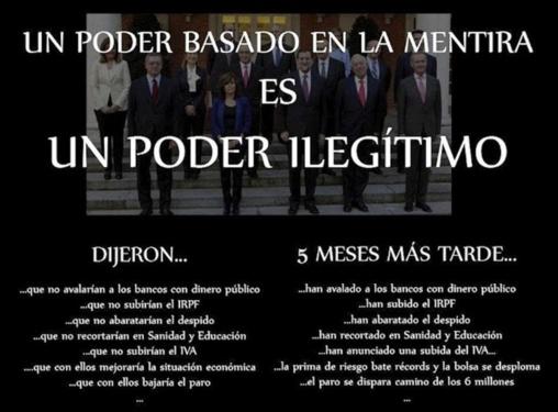 Ley Antidesahucios: la torpe y dolorosa arrogancia del gobierno de Rajoy