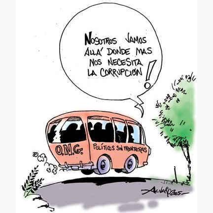 Accidente autobús de políticos (Humor democrático, piadoso y regenerador)