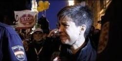 Talegón, abucheada en una manifestación
