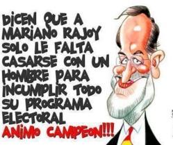 """Déficit democrático y desprecio al ciudadano, los dos grandes """"pecados"""" de Rajoy"""