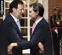 Arturo Más acusa a Rajoy, con razón, de no reformar la gruesa y grasienta administración central