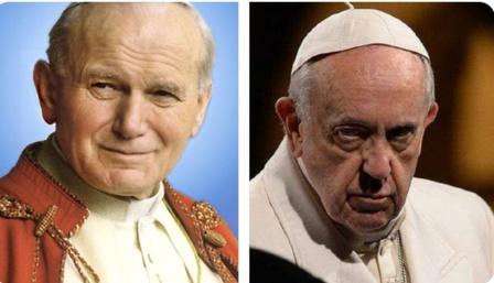 A Francisco se le compara con otros papas de la Iglesia Católica y siempre sale malparado