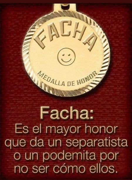 """El orgullo de ser llamado """"facha"""" en España"""