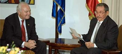 Cobarde y triste actitud de España en Cuba