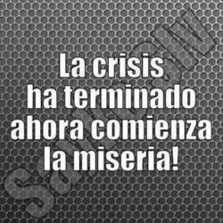 AGUDA CRISIS