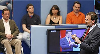 Rajoy sale exitoso de la 'trampa' de TVE