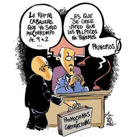 Corrupción made in Spain