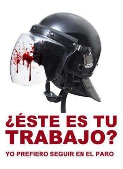 ¡Cuidado con la policía española!
