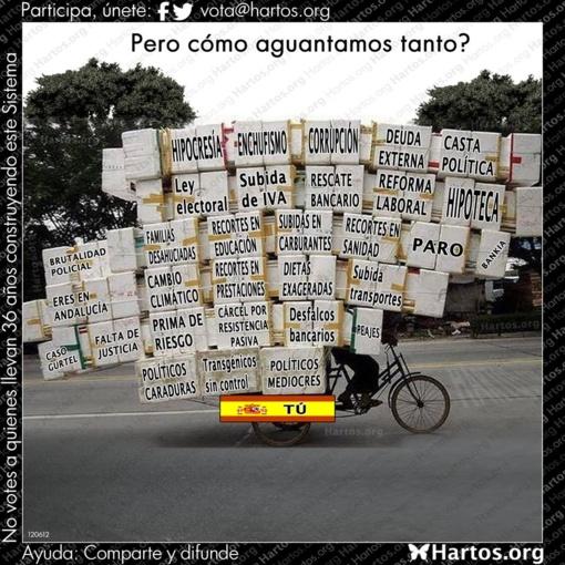 ¿Quien es el enemigo del pueblo en España?