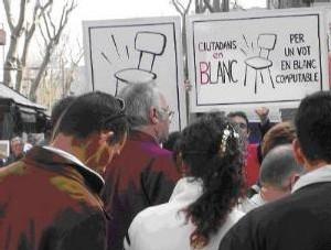 El 'Voto en Blanco' es el voto ciudadano limpio y regenerador
