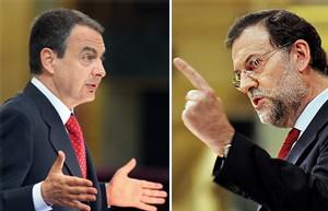 Zapatero gana el debate a un Rajoy obtusamente obsesionado con ETA