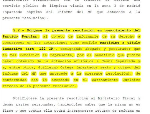 El juez Ruz arremete contra la sucia impunidad de los partidos políticos en España