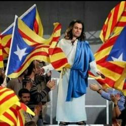 Provocación, farsa y gran problema en Cataluña
