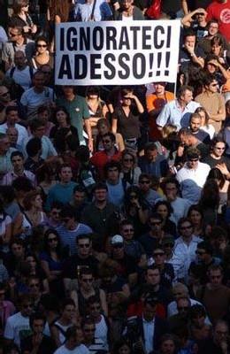 Italia: el Vaffanculo day ('V-day')