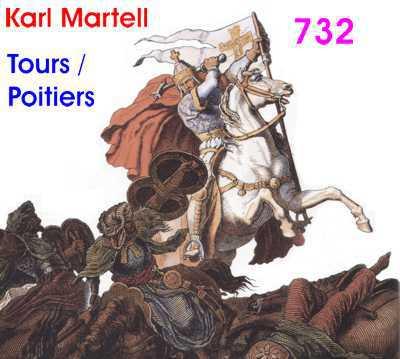 Je suis Charlie Martel (Yo soy Carlos el Martillo), vencedor en Poitiers