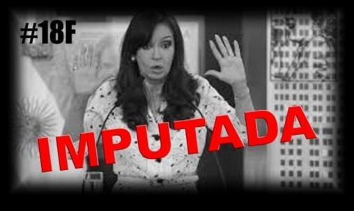 La presidenta argentina ha sido imputada