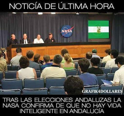 Humor tragicómico sobre Andalucía que circula por las redes