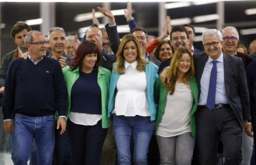 Imagen de la victoria de Susana y los suyos
