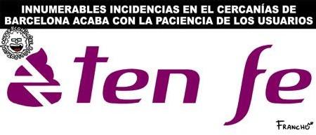 Logo de RENFE en Cataluña
