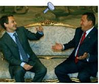 Dos amigos: ZP y Hugo Chávez