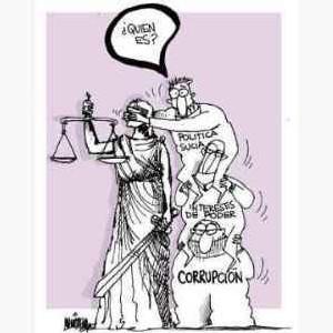 Política contra la Justicia