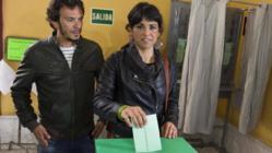 Kichi y su pareja, Teresa Rodríguez
