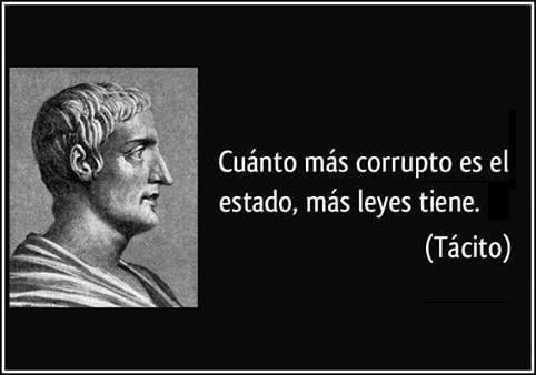Cuanto mas corrupto es el Estado, menos aplica la ley y mas cobardía acumula