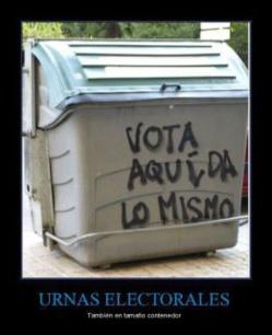 Sobre la inutilidad democrática de la abstención