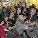 Zapatero y la agresión independentista a María San Gil