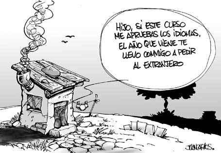 España no es un país para débiles