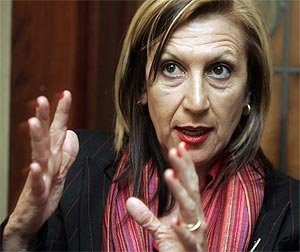 Rosa Díez, la 'honda' que necesita el David demócrata español