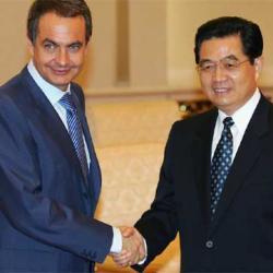 El silencio cobarde de ZP ante China