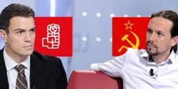 El PSOE, sin estructura ideológica, se destruye y el régimen entero se hunde