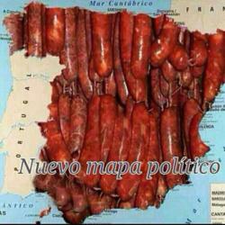 Nuevo mapa político de España